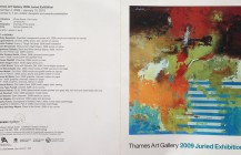 Thames Art Gallery / 2009 Juried Exhibition / catalog.